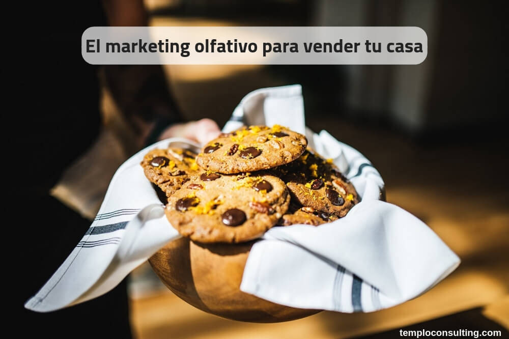 Marketing olfativo con cookies